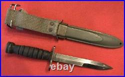 100% Original and RARE WW2 Aerial M1 Carbine Bayonet and M8 ScabbardExcellent+