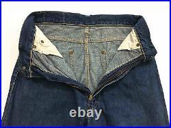 Auth Vintage 1940 Levis Xx Big E Hidden Rivets WWII Rare Jeans Denim Pant W28
