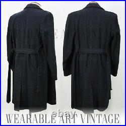 COAT CC41 TRENCH 40s VINTAGE JACKET 30s 50s WWII CLASSIC ICONIC FILM NOIR RARE