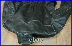 German WW2 Luftwaffe Leather Private Personal Pilot's Jacket Rare
