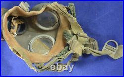 German Wwii Wehrmacht Soldier Gas Mask Original Rare War Relic