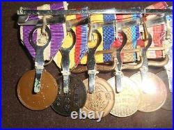 Japanese WW1-WW2 IJA medal grouping bar. RARE