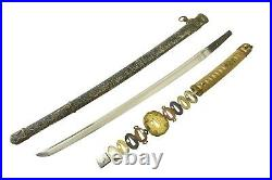 MINTY WWII Japanese Samurai Sword NIHONTO WW2 Shin Gunto WAKIZASHI WW2 RARE