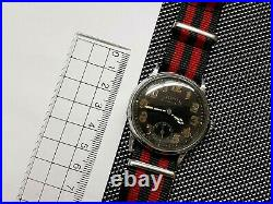 NIDOR LUFTWAFFE PILOTS AVIATOR WWII 1940s Military Watch Rare Collectible Uhr