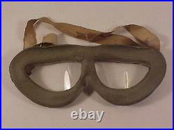 ORIGINAL, RARE & VERY GOOD Condition HB Rocket Flying Goggles Worn Pre-WWII