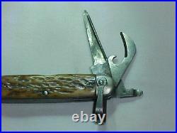 ORIGINAL, RARE & VG+ Condition WWII Type II 10th Mountain Div/FSSF Pocket Knife