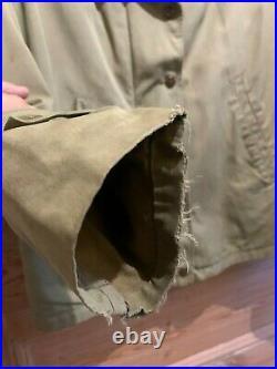 Original WW2 Rare M1941 M41 USA Womens Field Jacket, size 18, Talon zipper