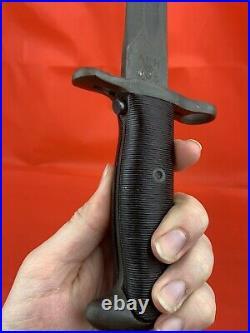 Original WWII AFH US 1943 Dated Long Bayonet M1 Garand 16 RARE