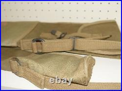Original WWII USMC 1903 Springfield Rifle Field Case Canvas RARE Arsenal Marked