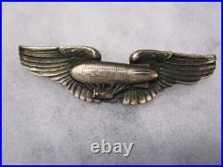 Original pre WWII era STERLING AAF Air Ship Pilot Wings VANGUARD / RARE
