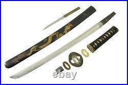 RARE KOTO WWII Japanese Officer Samurai Sword NIHONTO Wakizashi Shin Gunto WW2
