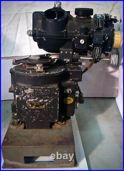 RARE NORDEN BOMBSIGHT With STABILIZER ON CARRIER With AUTOPILOT MK 15, MOD 7, WW2