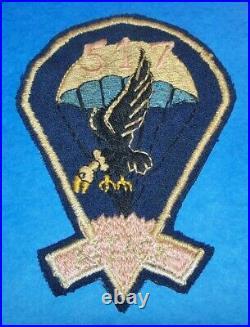 RARE ORIGINAL WW2 THEATER MADE 517th PIR PARACHUTE INFANTRY REGIMENT PATCH