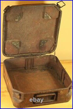 RARE ORIGINAL WWII German Tellermine T. Mi. 35 empty Carry Case Box