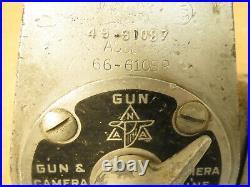 RARE Original North American Aviation WWII Aircraft Wing Gun & Camera Selector
