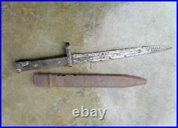 RARE Original USSR Soviet Russian WWII Early Knife Bayonet Tokarev SVT-40