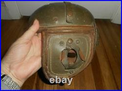 RARE Vintage Rawlings WWII Tank Pilot Hard Shelled Military ARMY Helmet HTF