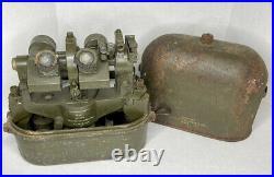 RARE WW2 COOKE TROUGHTON & SIMMS Military No 4 MK III Flash Spotting Binoculars