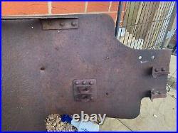 RARE WW2 German Army Cannon/Pak Shield with original paint Battlefield Relic