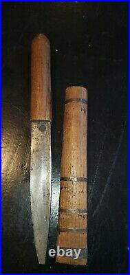 RARE WW2 Japanese SOLDIER'S SUICIDE KNIFE KAMIKAZE PILOT ABORIGINAL KNIFE