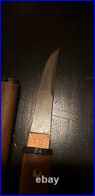RARE WW2 Japanese SOLDIER'S SUICIDE KNIFE VERY SMALL FOR COCKPIT TANK O PILOT