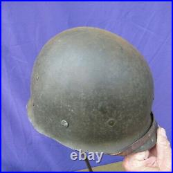 RARE WW2 Original WWII M1 Helmet Liner St Clair Low Pressure with Sgt's Rank