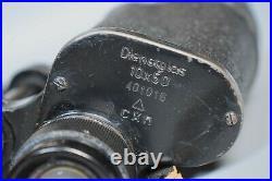 RARE WWII German 10x50 Dienstglas Late-War Model CXN Busch Rathenow Original WW2