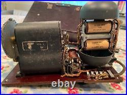 Rare OB Fernsprecher 43 WWII German Signal Field Phone