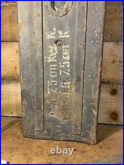 Rare Original WW2 German Panzer 4 Stug 2 Round Ammo KWK Box Original Paint