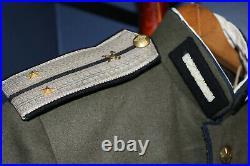 Rare Original WW2 Soviet Army Engineers Wool M45 Parade Tunic Mundir withInsigna