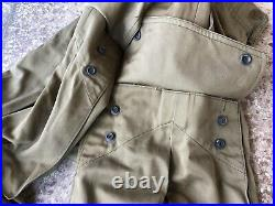 Rare Original WWII M42 Paratrooper Jump Trousers 30x31 Parachute Near Mint VTG