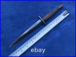 Rare Original Ww2 Us Oss Lf&c Commando Knife And M6 Sheath Viner Bros 1943
