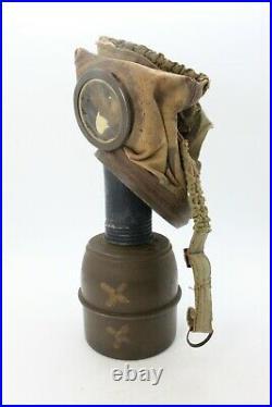 Rare WW2 French Gas Mask TC-38 Gas Mask