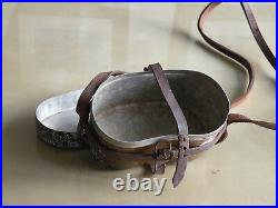 Rare WW2 Japanese Imperial Army Officer Mess Kit with Shoulder Strap