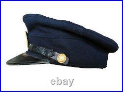 Rare WW2 Japanese Imperial Navy Petty Officer Visor Hat Named (Original) Named
