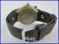 Rare WW2 Luftwaffe German Chronograph Pilot Watch by Hanhart Circa 1939/1940