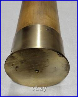 Rare Wwii 3 Inch Mark 6 Wood Wooden Cannon Artillery Shell Practice Round