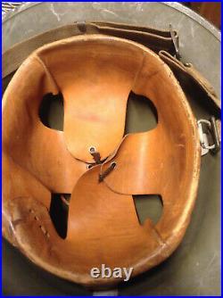 Super Rare Pre Ww2 Usmc Kelly Helmet With Ega