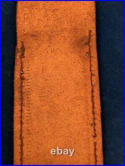 ULTRA RARE WWII ORIGINAL SHEATH for V42 CASE FIGHTING KNIFE- FSSF DEVILS BRIGADE