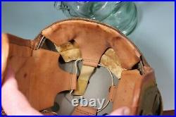US WW2 ArmyTank Tanker Helmet. 7 1/8. Sears Saddlery Co. RARE Maker. Light wear