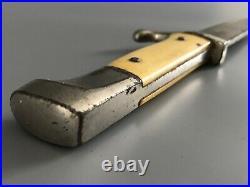 Very Rare! Original Dutch WWII NJS Nationale Jeugdstorm Dagger Knife C. Eickhorn