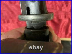 Very Rare Original German Ww2 K98 Bayonet Scabbard Matching Numbers 43agv