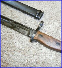 Very Rare Original Ww2 Japanese Type 100 Paratrooper Bayonet