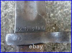 Very Rare WW2 Russian SVT 38 Bayonet