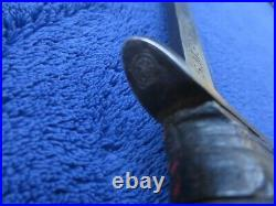 Very Rare Ww2 Original M3 Knife Made By R. C. C And M6 Barwood Sheath