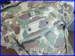 Vintage 1943 WWII USMC US MARINE CORPS Jungle Camo Pack Backpack Rucksack. Rare