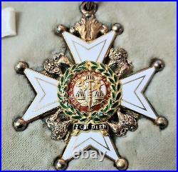 Vintage & Rare Honourable Order Of The Bath C. B. Cased Medal Set 1960 Award