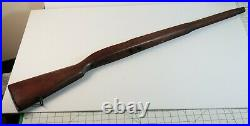 Vintage WWII US Military Springfield Armory M1903 Rare Scant Rifle Stock WW2