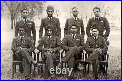 WW 2 INDIAN AIR FORCE MEDAL GROUP OF (7) Medals, NAMED, ULTRA-RARE UNIT