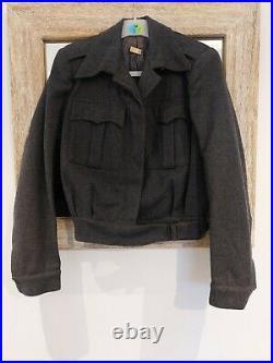 WW2 American Red Cross Clubmobile Battledress Uniform Original Mint RARE